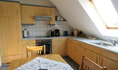 Küche Dachgeschoss (1-2 Familienhaus, Berumbur)