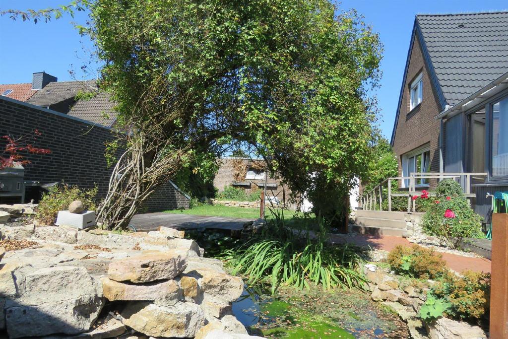 Gartenansicht (1-2 Familienhaus, Lingen)